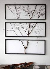 DIY Home Decor Out Off Tree Branches | Elonahome.com