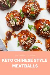 Chinese Style Meatballs