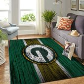 Green Bay Packers Nfl Room Carpet Sport Custom Area Floor Home Decor Area Rug   – Products