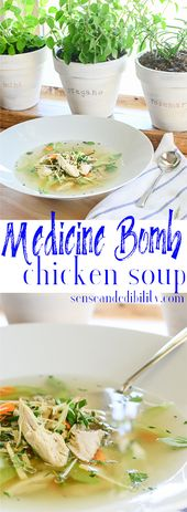 Medicine Bomb Chicken Soup: The Cure in a Bowl