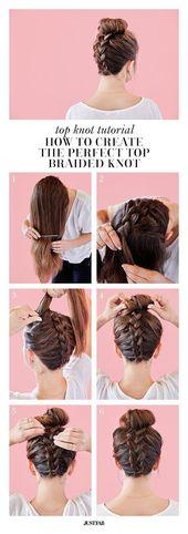 62 peinados simples paso a paso para hacer tu propio – ideas para el cabello – #en …