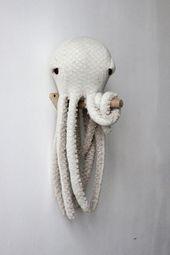 Kleine Octopus Albinos – handgemachte Sachen