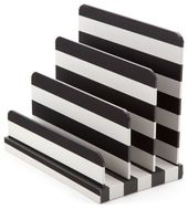 Get The Look: Bold Black & White Striped Offices & Decor