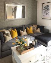 Más de 40 excelentes ideas de decoración para la sala de estar   – Brr wohnzimmer