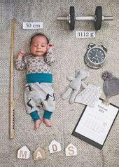 Sie sollten diese 10 Babyfotos nach der Geburt machen   – bebe famille