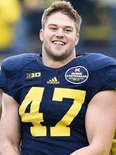 Jake Ryan Michigan Wolverines Football Jersey - Navy
