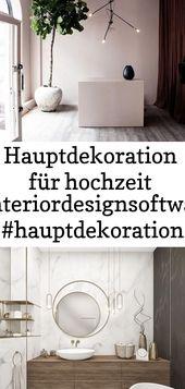 Hauptdekoration für hochzeit #interiordesignsoftware #hauptdekoration #hochzeit #interiordes… 1