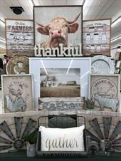 Hobby Lobby Bauernhaus – Hobby Lobby Merchandising D245 – #Farmhouse # D245 #H … – Top Kreative Hobby-Ideen