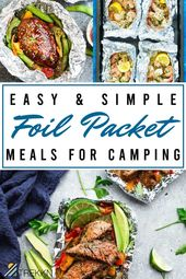 19 Foil Packet Meals for Easy RV Cooking & Camping – Camping Hacks