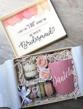 "18 Bridesmaid Proposal Gift Ideas to Ask ""Will You Be My Bridesmaid?"" – EmmaLovesWeddings"