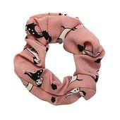 PinkLu Haarband Damen Elastischer Haarseilring Krawatte Elastisches Pferdeschwanz-Haarband Tierdruck Elegantes Temperament Mode Neuer HeißEr 5-Farbig…