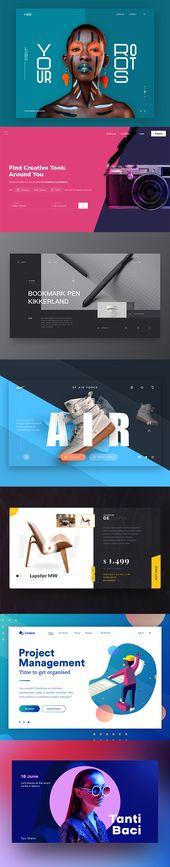 Web UI/UX Design  – Grafik Design