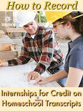 Methods to Document Internships for Credit score on Homeschool Transcripts