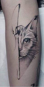 Top 39 Katzen Tattoo Designs für Katzenliebhaber 2019 – Seite 14 von 39