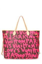 Louis Vuitton Stephen Sprouse x Pink Graffiti Neverfull GM   – Products