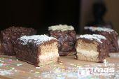 Bizcochitos de avena rellenos cubiertos de cacao – postres