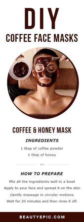 5 Top DIY Kaffee-Gesichtsmasken für gesunde und wunderschöne Haut – Diy