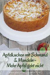 Apfel-Kuchen mit Schmand – Mehr Apfel geht nicht   BakingBlissBerlin