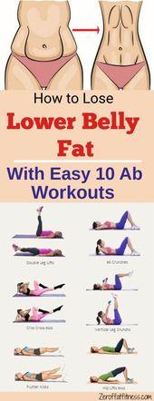 Wie man untereres Bauchfett-10 beste Ab Workouts verliert