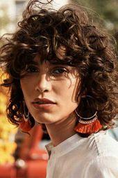 Curly Bob Frisuren für stilvolle Damen –