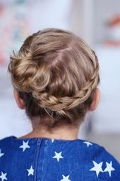 Braided hairstyles for children: braids for girls + instructions