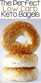 Los panecillos de ceto bajo en carbohidratos perfectos   – Low carb recipes