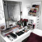 Vanity Bedrooms Storage Organization 9