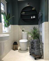 Ce luminaire de salle de bain est incroyable! # kleinebadezimmeridebäderidebadeba