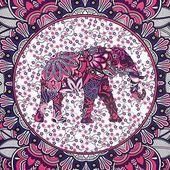 Amazon.de: Finether indischer Wandteppich Wandbehang Mandala Elefant Tuch Wandtuch Gobelin Tapestry