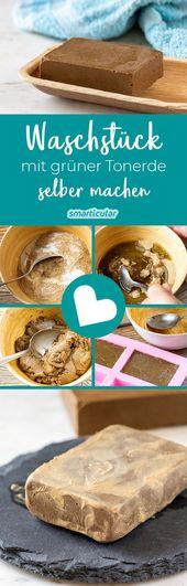 Sanfte Alternative zu Seife: Gesichtsreinigung mit Tonerde-Waschstück