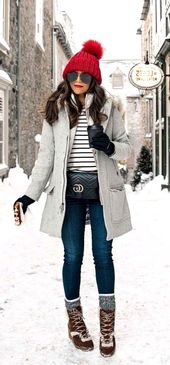 25 Winter Outfits  Cold Snow Idea For Women