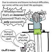 We live in a technical world of the need for so many passwords. Do you relate to this Mum? In most cases this is recoverable. Call me! #computer #tech…