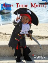 could this pirate be any cuter? great felt pirate boot tutorial. ira will be exc…