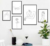 """Hände"" Leinwand Kunst   – room inspiration –   #Inspiration #Kunst #Leinwand #…"