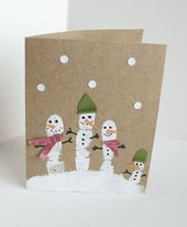 Make 65 ideas for Christmas cards yourself