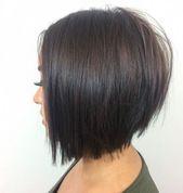 Dernières coiffures de bob en couches. #layeredbobhairstyles Dernières couches de bob …   – Master