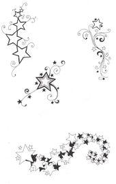Stern Tattoo: Bedeutung der Tattoos mit Sternen und Vorlagen