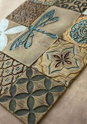 Handgefertigte Keramik rustikale bunten Fliesen f….
