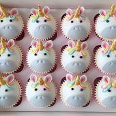 Receta perfecta para una colorida fiesta de unicornios o cumpleaños de niños # Cumpleaños …   – Happy Cakes