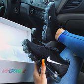 Nike Vapormax: ¡zapatillas de deporte Nike para mujer! Esta serpiente negra   – S H O E S