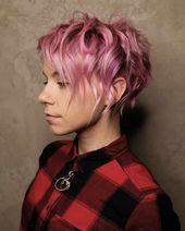 60 meilleures coupes de cheveux Pixie pour les femmes 2019 – coiffures courtes P …   – coiffure Femmes