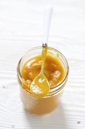 Purée Pêche + Mangue + Carotte + Menthe – Nourriture pour bébé | recettes de cuisine bio pour bébé …   – All about babies