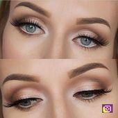 wedding Abbey Wahl Brautjungfer Augen Make-up