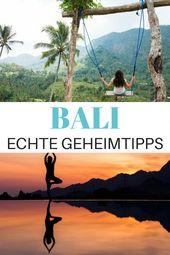 Bali Tipps: Die besten Sehenswürdigkeiten für deinen Urlaub