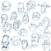 Free drawing - face thumbnail #soonsangworks #sketching #sketch #drawing #doodle