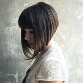 A-Line Bob Haarschnitt – Trendige Bob Frisur für stilbewusste und extravagante Damen – Neu Besten