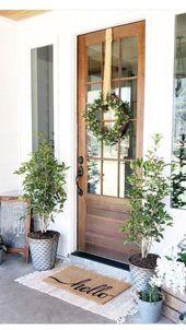 47 Fancy Farmhouse Herbst Veranda Dekor und Design-Ideen – #Dekor #DesignIdeen #…