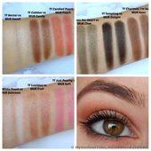 Make-up Revolution I Herz Make-up Schokolade und Pfirsiche Lidschatten-Palette Bewertung: …   – Eyeshadows (Swatches + Makeup Tips)