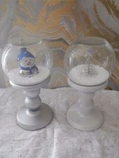 Dollar Store Quick and Easy Snow Globes