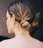 25 Cutest Two Bun Hairstyles for Women – HairstyleCamp 25 Cutest Two Bun Hairstyles for Women…#bun #cutest #hairstylecamp #hairstyles #women